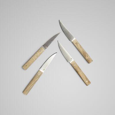 Daghorn, 'knives, set of four'