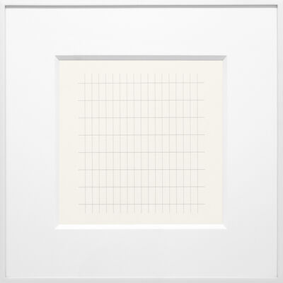 Agnes Martin, 'On a Clear Day #28', 1973