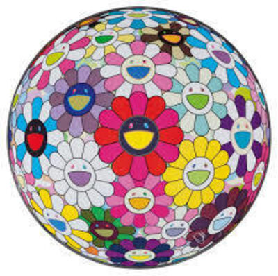 Takashi Murakami, 'Flowerball: Open Your Hands Wide', 2016