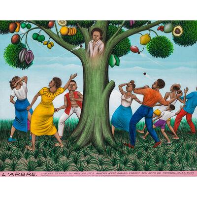 Chéri Samba, 'L'arbre', 1992