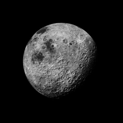 Michael Light, '109 The Moon Seen From 1000 Miles, Showing Farside Highlands; Photographed by Kenneth Mattingly, Apollo 16, April 16-27, 1972', 1999