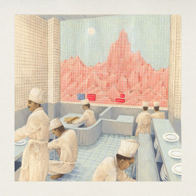 Lucile Gauvain, 'Hotel Kitchen 1', 2019