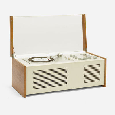 Dieter Rams, 'SK 5 Phonosuper radiogram with rare external Snow White speaker', 1958