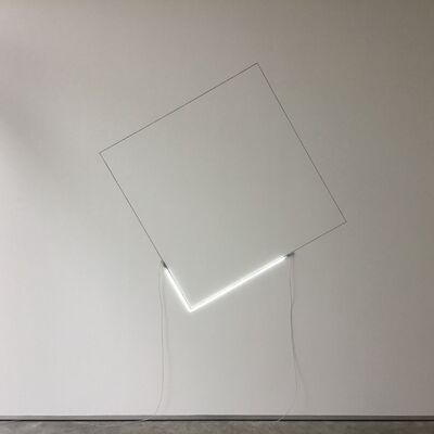 Jan Van Munster, 'one square on light', 2017