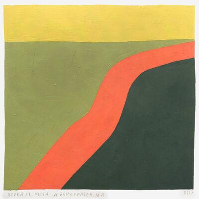 Kristin Texeira, 'river st vista, w. bridgewater, ma', 2017