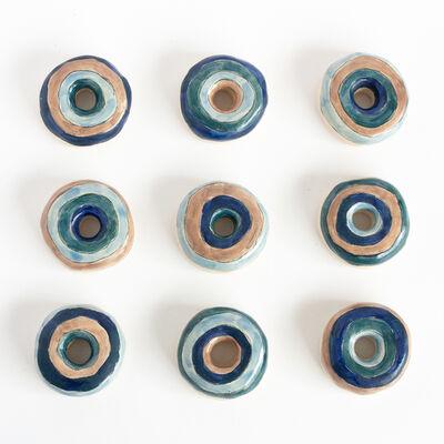 Liv Antonecchia, 'Blue Orb Donuts', 2020