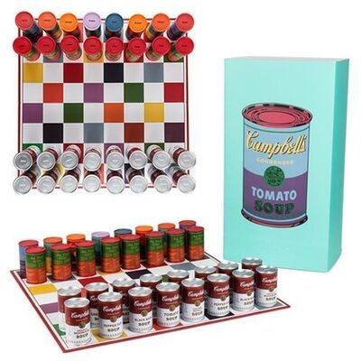 Andy Warhol, 'Campbell's Soup Can Chess Set', ca. 2017