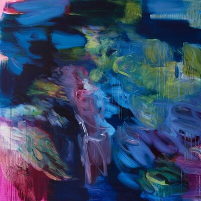 Rebecca Meanley, 'Untitled (phalo--iragazine-magenta)', 2017