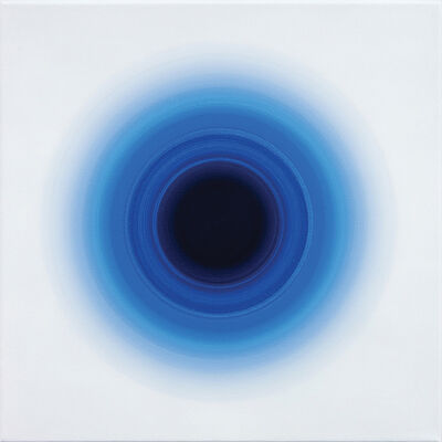 Oliver Marsden, 'Cyan Pthalo Blue Violey Harmonic VI', 2008