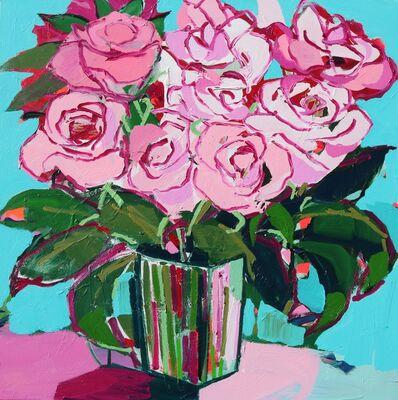 Alexandrya Eaton, 'Pale Pink Roses', 2018