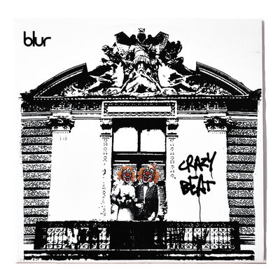 Banksy, 'BLUR CRAZY BEAT (Promo cd in sleeve)', 2003