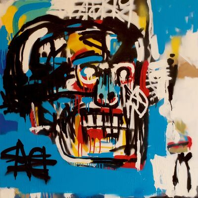Thomas Buildmore, 'Bill (After Jean Michel Basquiat)', 2017