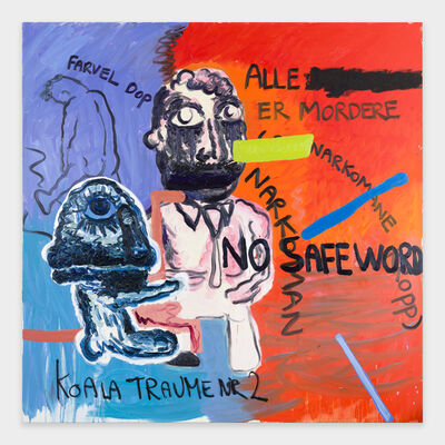 Bjarne Melgaard, 'No Safe Word', 2018