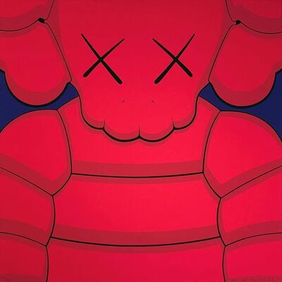 KAWS, 'What Party - Pink', 2020