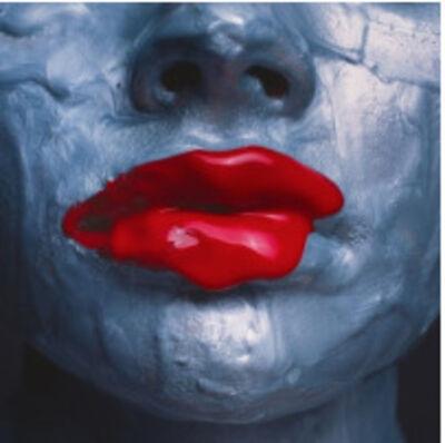 Tyler Shields, 'Red Lips'
