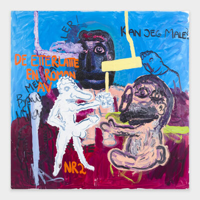 Bjarne Melgaard, 'Can I Paint', 2018