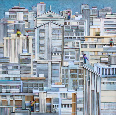 Lee Jeong Woong (b. 1967), 'City story-06', 2016