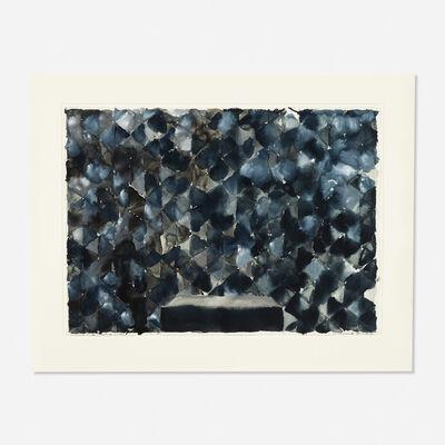 Richmond Burton, 'Picture of a Picture (Monochrome Threshold)', 1990