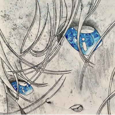 Kojiro Matsumoto, 'Grey and blue eyes', 2019