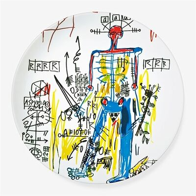 Jean-Michel Basquiat, 'Estate Authorized Porcelain Plate in Box (Mint)', 2014