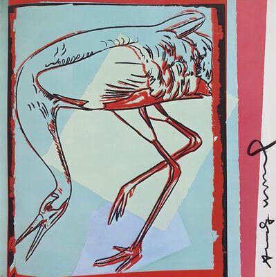 Andy Warhol, 'Whooping Crane', 1986