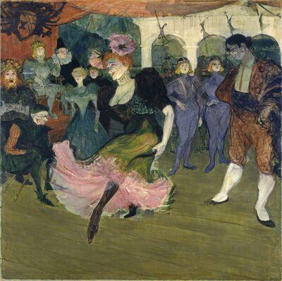 """Henri de Toulouse-Lautrec, 'Marcelle Lender Dancing the Bolero in """"Chilpéric""""', 1895-1896"""