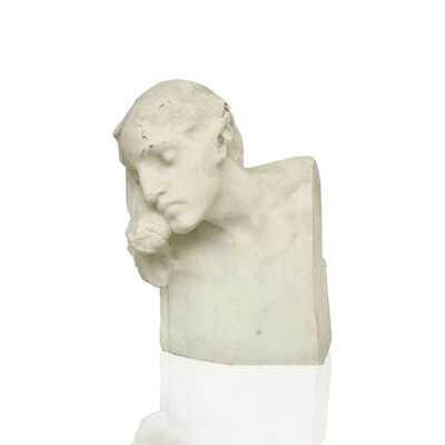 Unattributed, 'Female bust', 1880