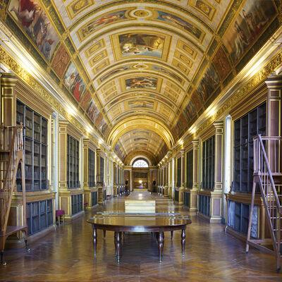 Reinhard Gorner, 'Château de Fontainbleue II Library, France', 2018