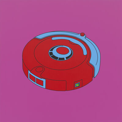Michael Craig-Martin, 'Untitled (robot floor cleaner)', 2014