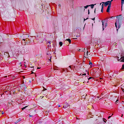 JeongMee Yoon, 'Jeeyoo and Her Pink Things', 2008