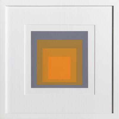 Josef Albers, 'Homage to the Square, Portfolio 2, Folder 24, Image 1', 1972