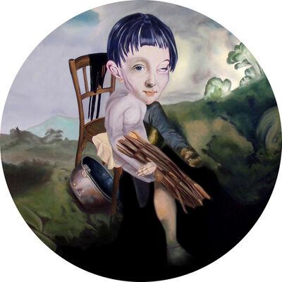Carolina Muñoz, 'Pie colgando', 2011