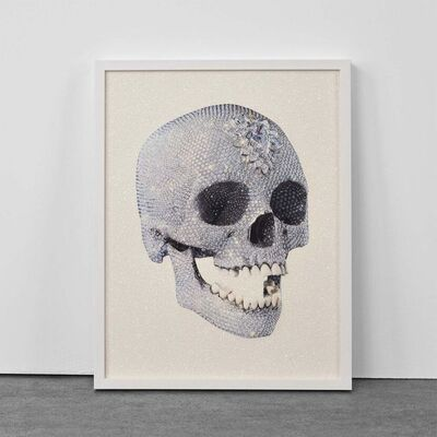Damien Hirst, 'For the Love of God (White)', 2011