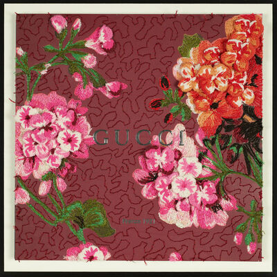 Stephen Wilson, 'Gucci Floral Texture Study II', 2019