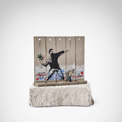 Banksy, 'Walled Off Hotel - Flower Thrower'