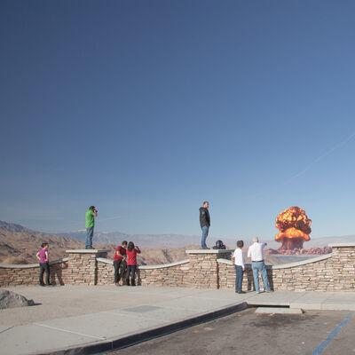 Clay Lipsky, 'Atomic Overlook: 03, 2012'