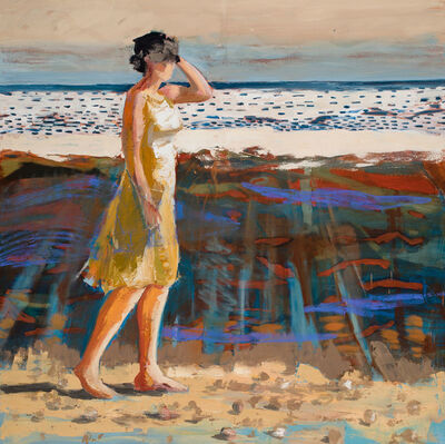 Linda Christensen, 'Beach Walk', 2015