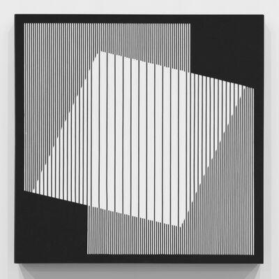 Julian Stanczak, 'Proportional White', 2010
