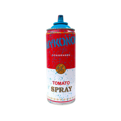 Mr. Brainwash, 'Mykonos Cyan Tomato Spray', 2019