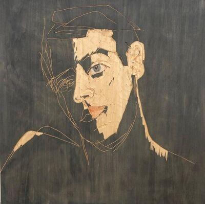 Stephan Balkenhol, 'Relief Mann', 2020
