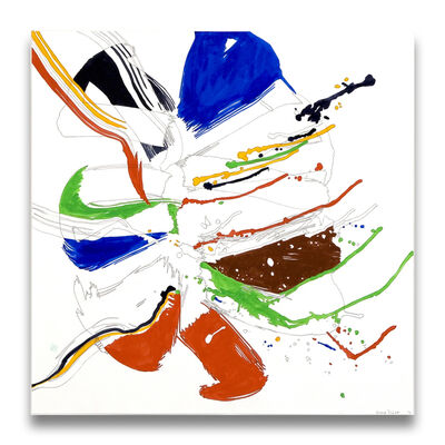 Ellen Priest, 'Jazz Cubano 42: Percussion Drawing', 2012
