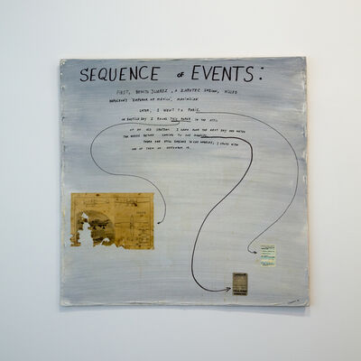 Jimmie Durham, 'Sequence of Events', 1993