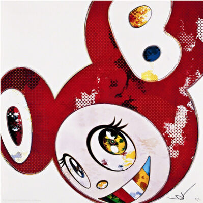 Takashi Murakami, 'And Then x 727 (Vermillion : Shu)', 2013