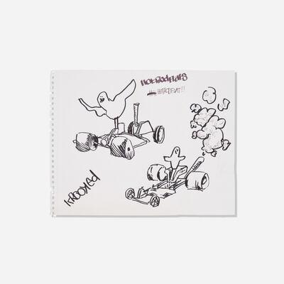 Mark Gonzales, 'Untitled (Hotrodflats)', c. 2000