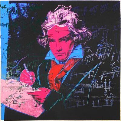 Andy Warhol, 'Beethoven II.392', 1987