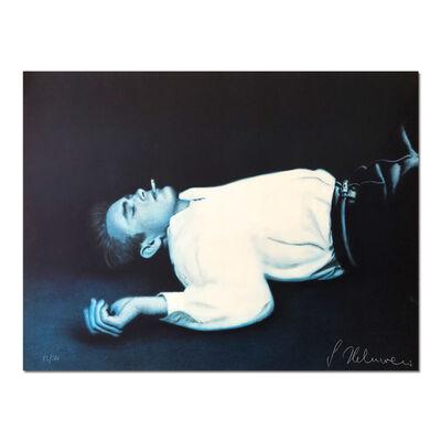 Gottfried Helnwein, 'Fallen Angel (James Dean)', 1985