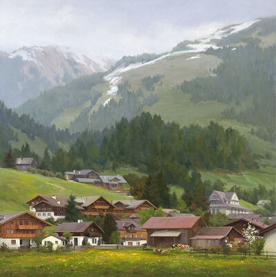 John Pototschnik, 'Beneath the Noble Alps', 2017