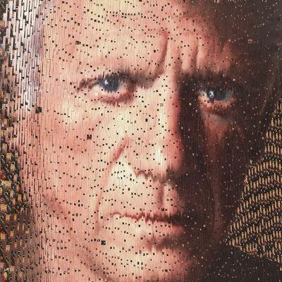 David Mach, 'Portrait of Picasso', 2010