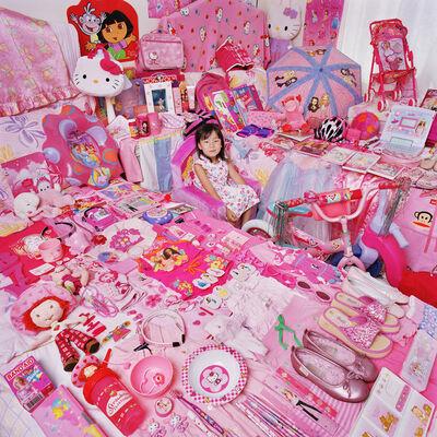 JeongMee Yoon, 'Celine and Her Pink Things', 2005