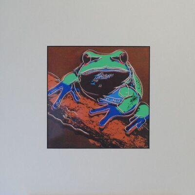 Andy Warhol, 'Tree Frog', 1987